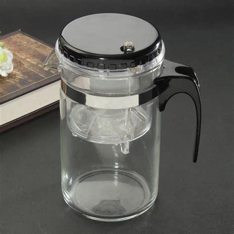 Und Teezubereiter by 500ml Teebereiter Teekanne Teezubereiter Glaskanne Aus