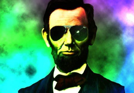 abraham lincoln  abstract background wallpapers