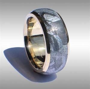 meteorite rings With wedding rings made from meteorite