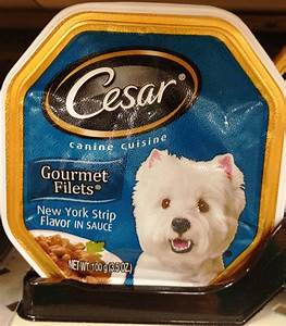 Dog Food Can Label