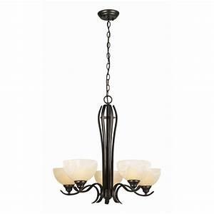 Design house trevie light oil rubbed bronze chandelier