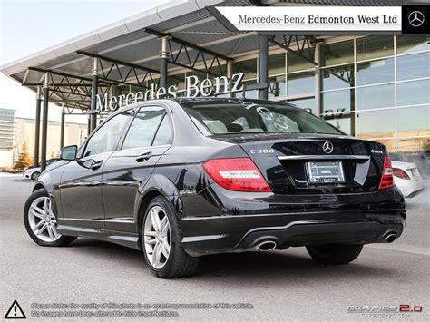 Vehicle has an existing warranty trim: Pre-Owned 2013 Mercedes-Benz C300 4MATIC Sedan 4-Door Sedan in Edmonton, Alberta