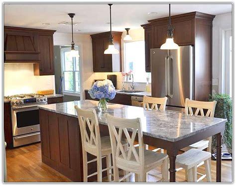 long narrow kitchen island table home design ideas