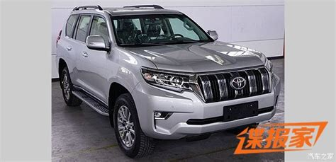 toyota prado facelift spy shots pakwheels blog