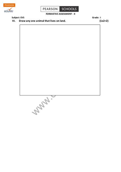 evs question paper for grade 3 evs kendriya vidyalaya