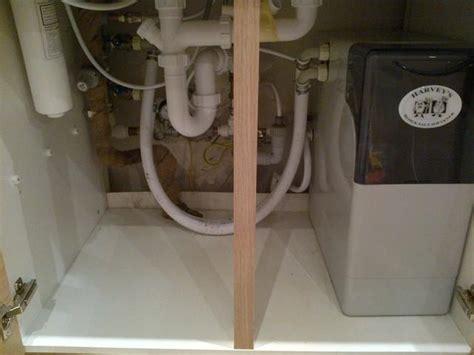 cold water pipe condensation  kitchen sink diynot