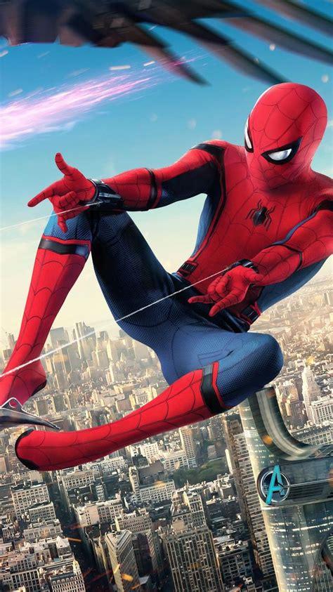 spider man homecoming  phone wallpaper