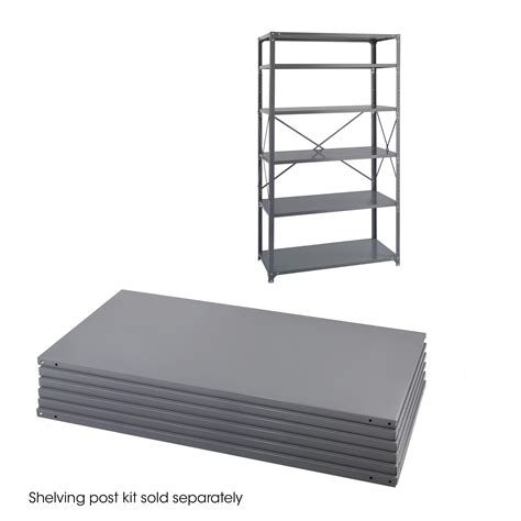 36 X 24 Industrial 6 Shelf Pack Safco Products