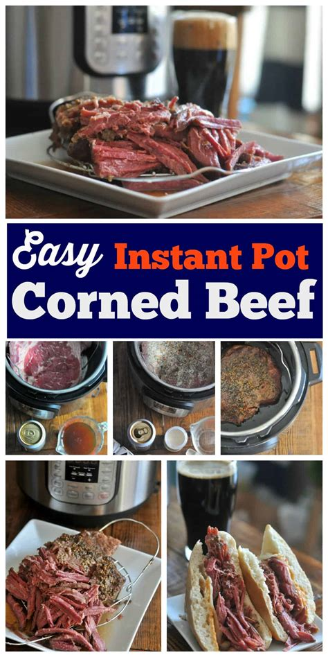 instant pot corned beef dining  alice