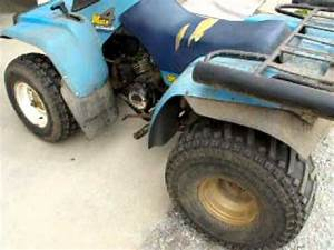 1987 Yamaha Moto4 350 Four Wheeler  Runs Well