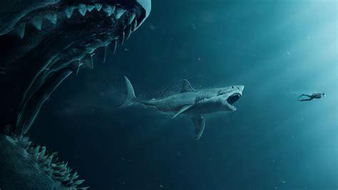 oboi meg monstr glubiny  meg shark diver