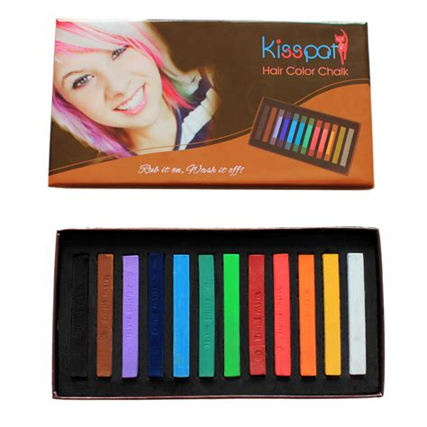 Textbook Mommy Kisspat Hair Color Chalk Review