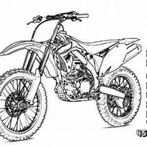 colouring in pages google search colouring pinterest With honda 500 dirt bike