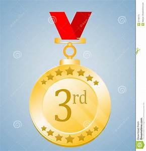 3rd, Position, Medal, Stock, Illustration, Illustration, Of