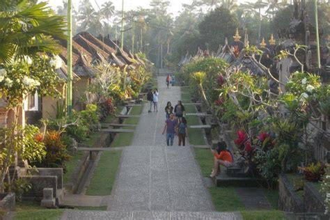 paket wisata desa penglipuran taman nusa full day