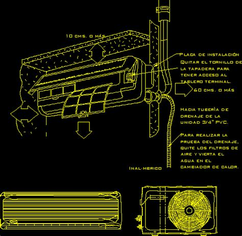 air conditioning dwg detail for autocad designs cad