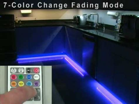 how to change the color of an led light rgb color changing led light strip youtube