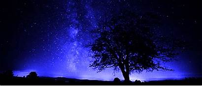 Night Stars Sky Star Shooting Galaxy Gifs