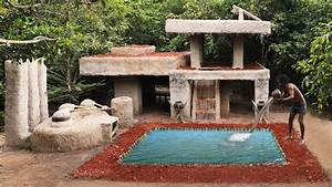 Building The Most Luxury Swimming Pool In Front Of Ancient