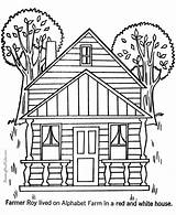 Houses Coloring Printable Pages Sheets Colouring Colour Adult Cartoon Building Printing Farm Clipart Raisingourkids Places Adults Castle Haunted Fun Library sketch template