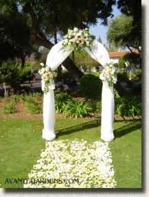 wedding vow backdrop décoration exterieur maison pour mariage