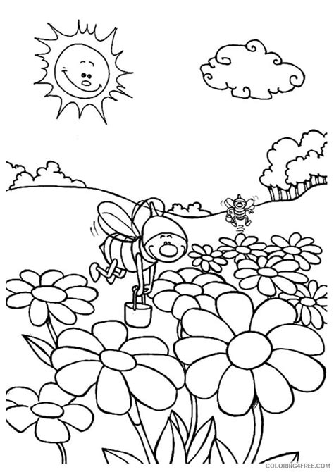 nature pages  rivers coloring pages