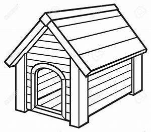 Dog House Clip Art Black And White – 101 Clip Art