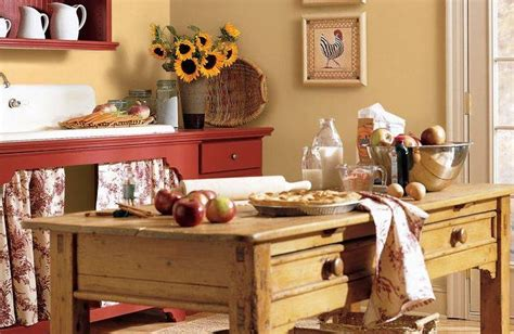 country kitchen color ideas kitchen island for the home