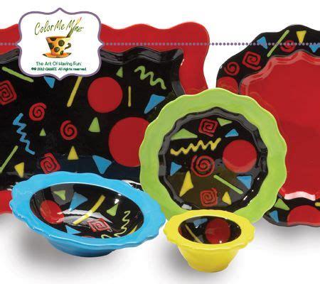 color me mine ridgewood kitchen gallery color me mine create servingware