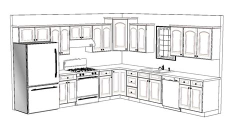 Kitchen Island Design Layout by 10 X 12 Kitchen Layout 4 12x12 Kitchen Design Layouts