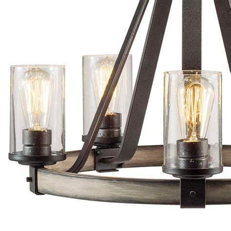 shop kichler lighting barrington  light anvil iron