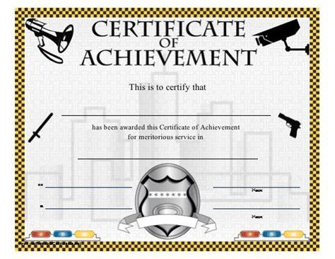 printable certificate honoring meritorious service