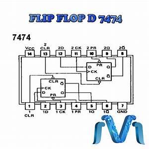 Circuito Integrado 7474 Flip Flop D 74ls74