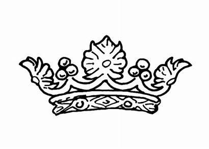Crown Coloring Queens Queen