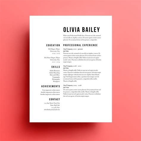 using resume templates in your search