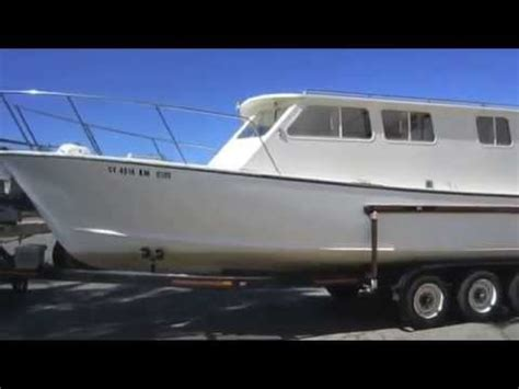 Monterey House Boats by 1991 30 Foot Monterey Bay Custom Pilot House Boat On