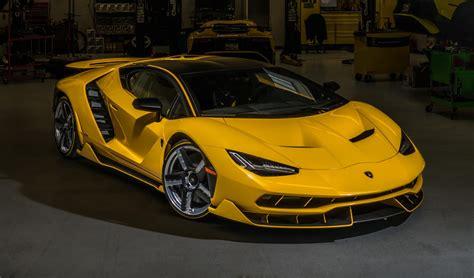 new koenigsegg 2017 yellow lamborghini centenario delivered in california