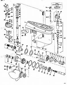 Johnson Outboard Parts By Year 1974 Oem Parts Diagram For