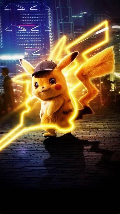 Pikachu Detective Pokemon 5k Wallpapers 1080 Iphone