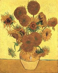 Van Gogh's Sunflowers Are Mutants | Flower Genetics ...
