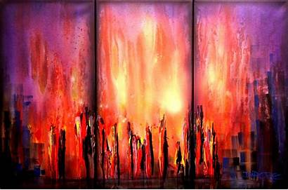 Abstract Modern Painting Dapore Contemporary Paintings Wallpapers