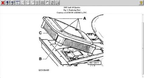 Audi Cabin Filter Location Air Conditioning