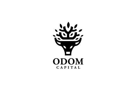 odom capital bull logo design logo cowboy