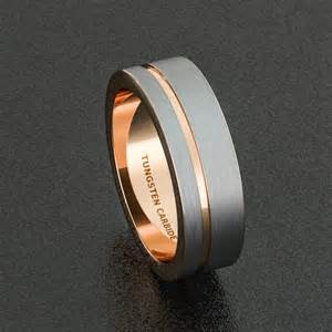 two tone wedding rings best 25 wedding rings ideas on tungsten mens rings tungsten wedding bands and