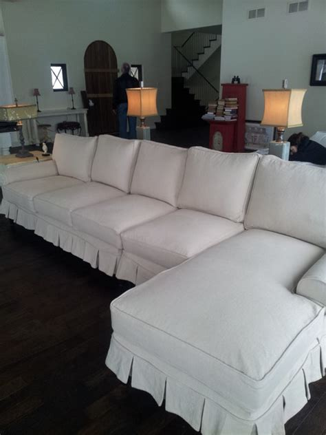 custom slipcovers for sectional sofas custom slipcovers rustic sectional sofas other metro