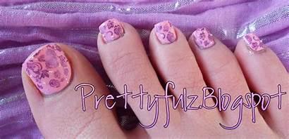 Pedicure Spring Nail Konad Pretty Colors