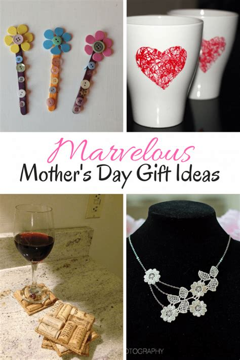homemade diy mothers day gifts  crafts ideas