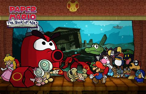 paper mario fan game paper mario boa chapter 7 by chetrippo on deviantart
