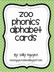 zoo phonics alphabet cards With zoo phonics letter cards