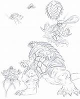 Gamera Coloring Scetchings Larger Draw Credit sketch template